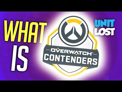 Overwatch Contenders - What is it?