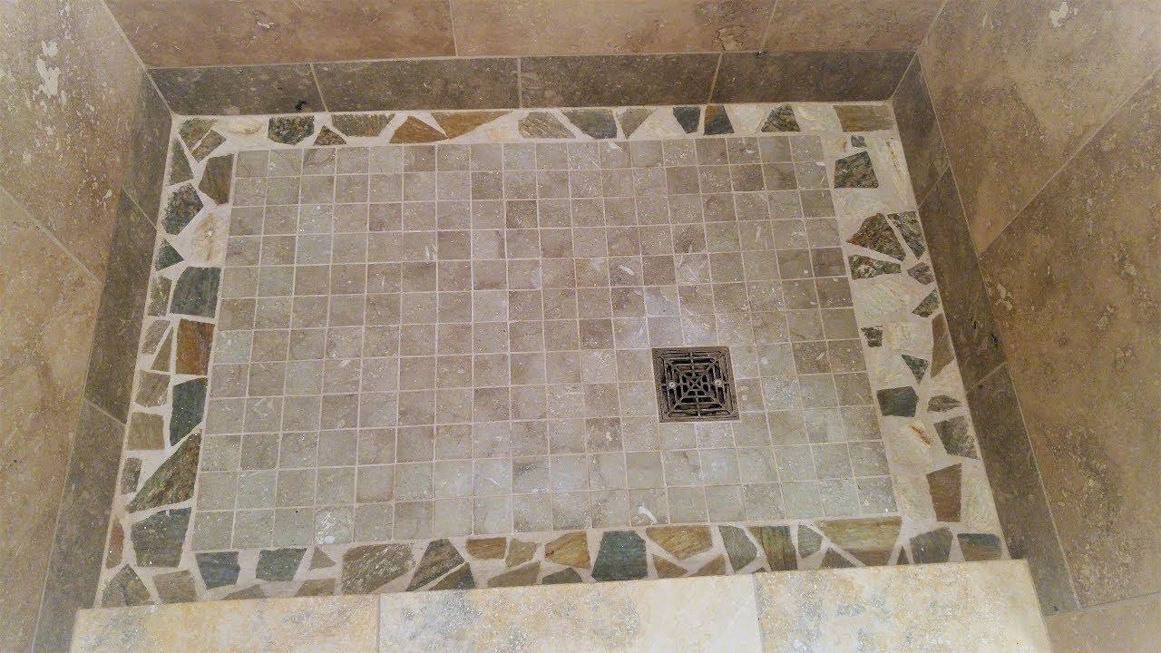 Installing A Broken Tile Mosaic Youtube