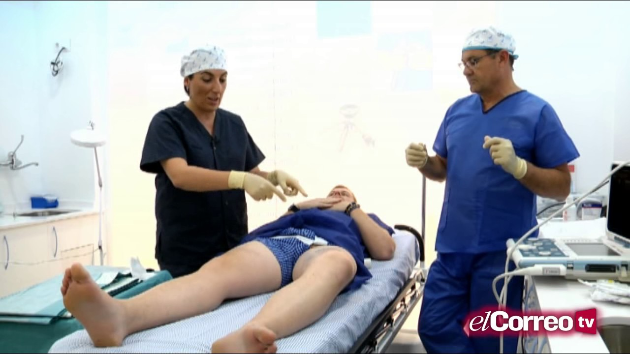 operacion de varices linear unit piernas video