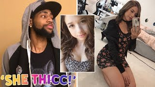 DAEQUAN CALLS POKIMANE THICC! [NOT CLICKBAIT!] (FORTNITE FREE $100 V-BUCKS GIVEAWAY!)