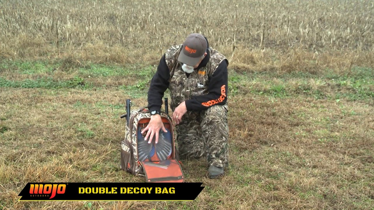 Introducing The Mojo Double Decoy Bag