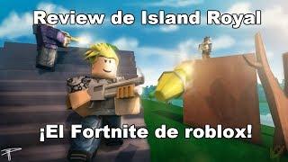 ¡Este juego copia realmente a Fortnite! || ROBLOX