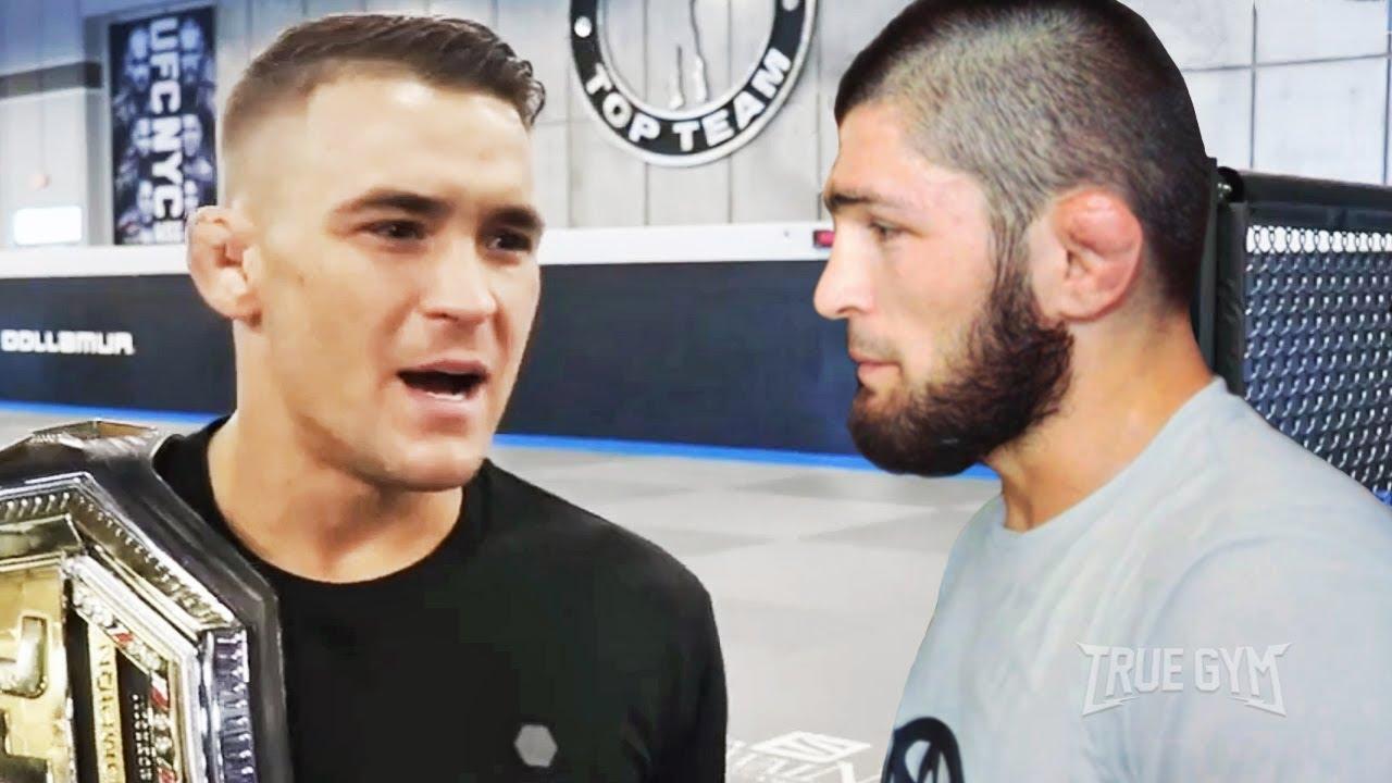 Я финиширую Хабиба Нурмагомедова / Дастин Порье перед боем на UFC 242