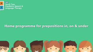 Prepositions In, On, Under