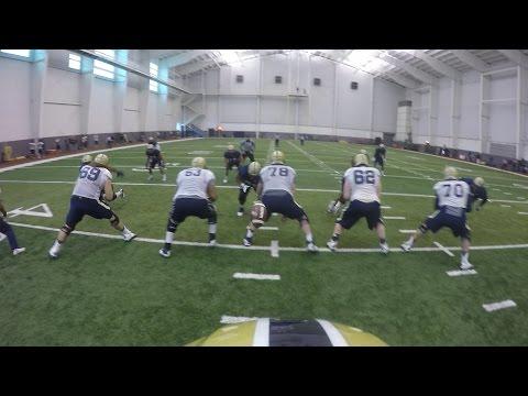 GoPro Helmet Cam | Pitt Quarterback | Nate Peterman