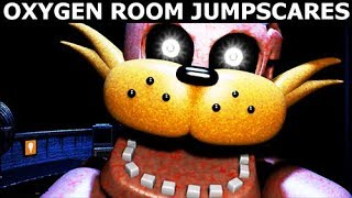 JOLLY 3: Chapter 2 - Oxygen Room Level - All Jumpscares (FNAF Horror Game 2018)