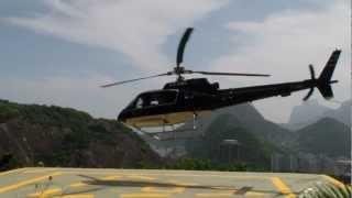 Полет на вертолете над Рио-де-Жанейро к статуе Христа(Бразилия, февраль 2013 года. Пролетаем от Сахарной головы и залива Гуанабара, над пляжами Копокабана и Ипанем..., 2013-02-24T18:45:32.000Z)