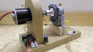 DC motor - Dishwasher drain motor,  The Gerard Morin setup and info on a larger build...
