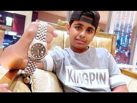 DUBAI'S RICHEST KID GETS $30,000 DOLLARS ROLEX !!!