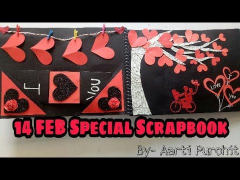 14 Feb Special Scrapbook Valentines Day Scrapbook Scrapbook