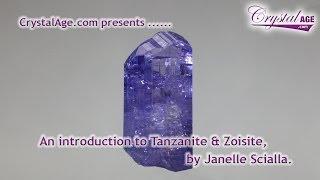 Healing Crystals Guide - Tanzanite & Zoisite