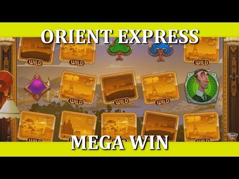 7 WILD LINES!! MEGA WIN - ORIENT EXPRESS - ISTANBUL