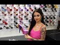 Review Pleaser Adore 708 OMBRE Fuchsia Blue 7 Inch High Heel Shoes