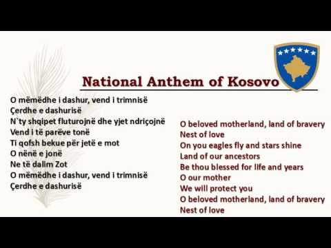 National Anthem Of Kosovo Youtube