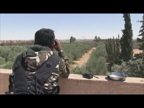 War in Syria: On the frontline in Raqqa