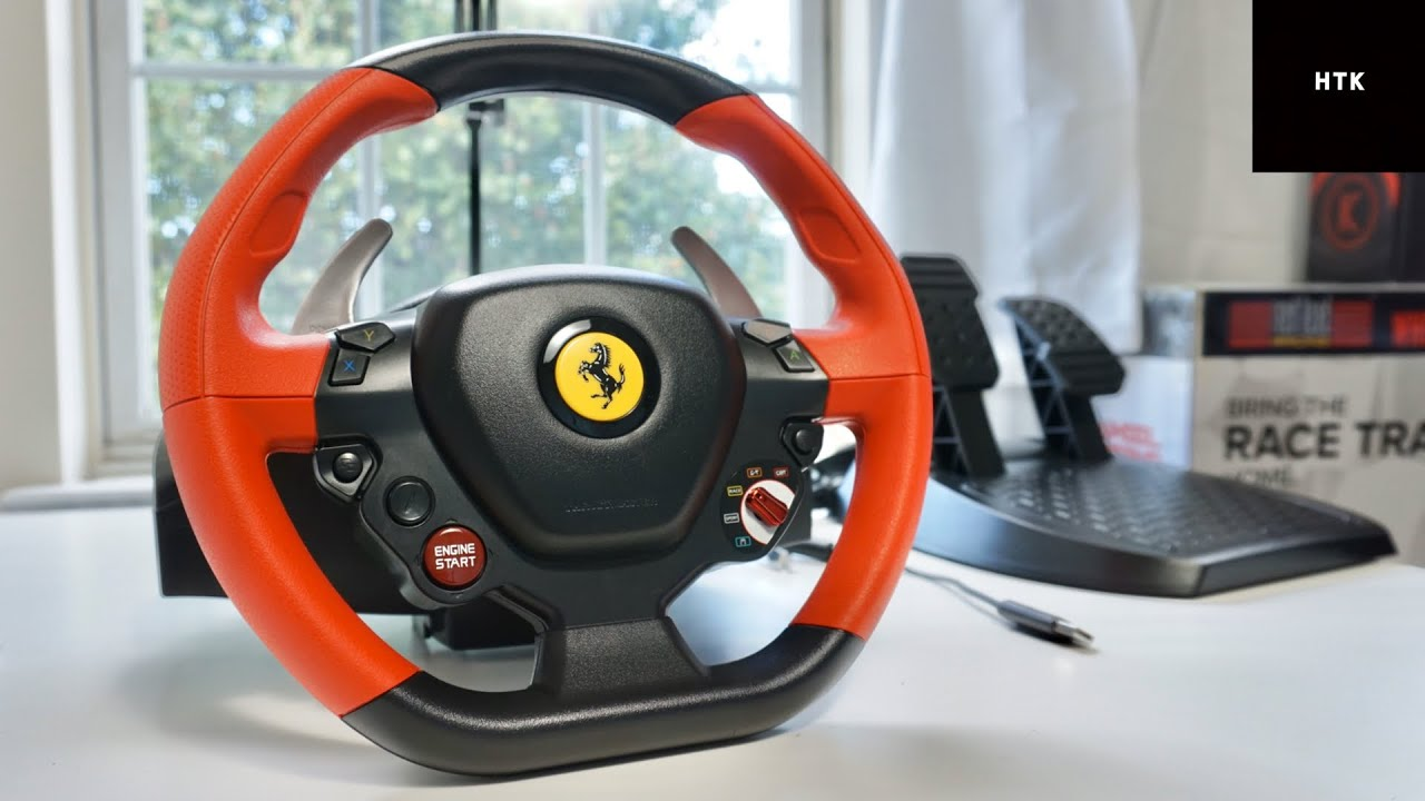 Ferrari 458 Spider Racing Wheel For Xbox One X S Unboxing Impression Youtube
