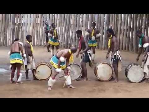 Swazi dance demostration in Swaziland
