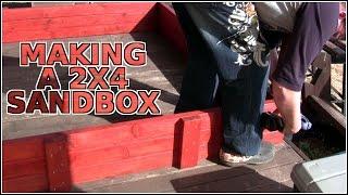 Making A 2x4 Sandbox