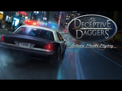The Deceptive Daggers: Solitaire Murder Mystery
