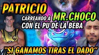 ¡¡ CUCHITO LO VUELVE A HACER !!, SE APODERA DE PATRICIO POR ELEGIR A SU PU Y CARREA A CHOCO - DOTA 2