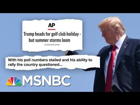 Golf, Twitter, And Cable News. What Could Go Wrong? | Deadline | MSNBC