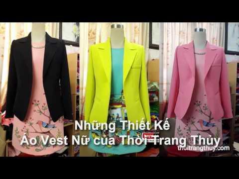 Tổng Hợp Mẫu áo Vest Nữ Thu đông Thời Trang Thủy Thiết Kế | Women Suit