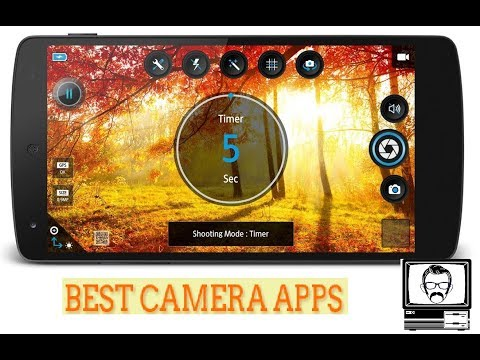 Top 6 Best Camera App For Android Must Try 2017 - YT