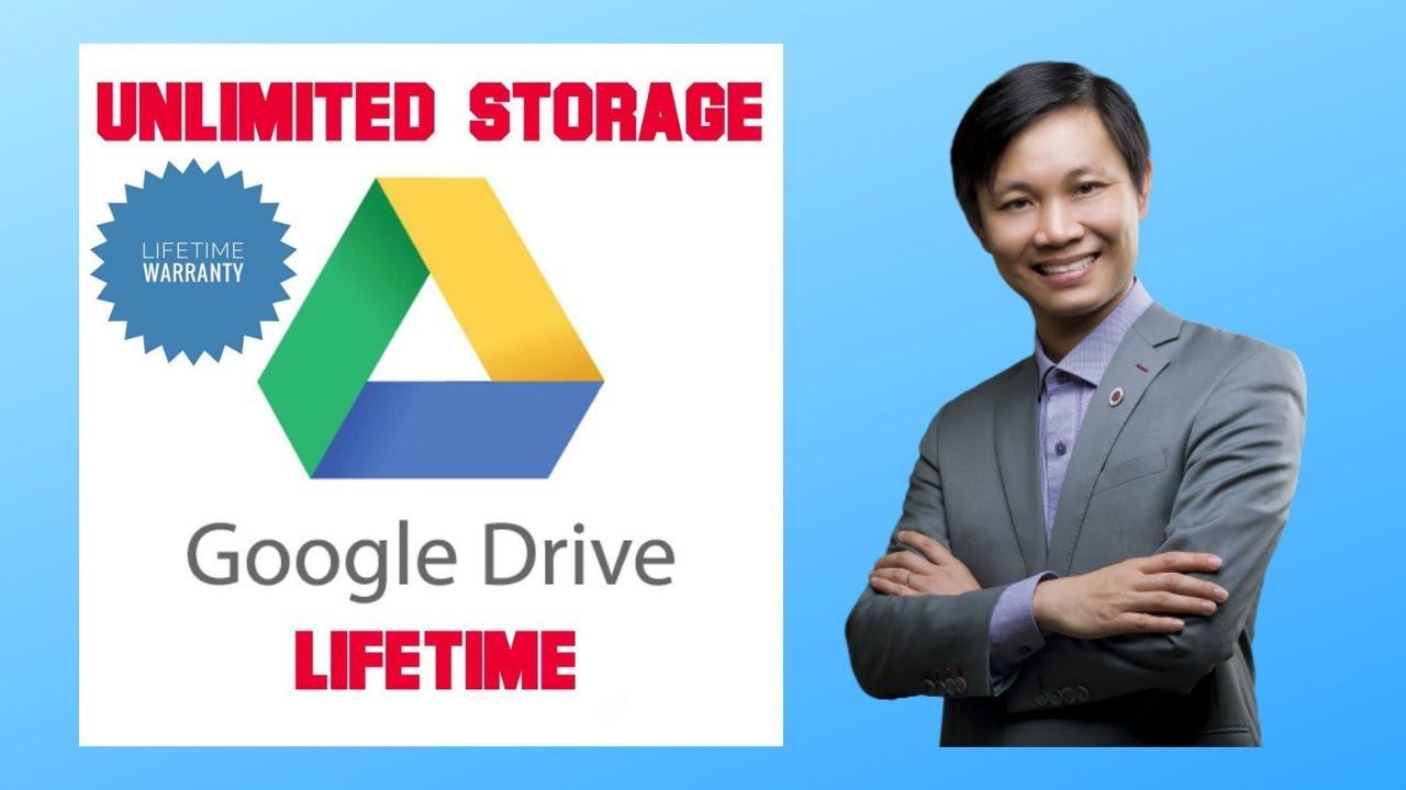 Hướng dẫn sử dụng và sở hữu tài khoản Google Drive không giới hạn (2020)
