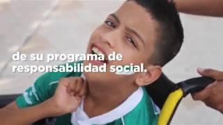 embeded bvideo Fomentando la inclusión - Guerreros de Corazón