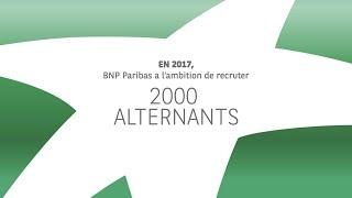 BNP Paribas - L'alternance est une histoire d'alter ego