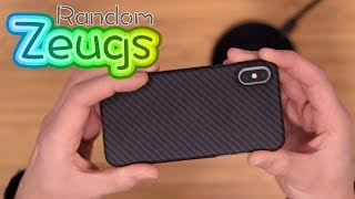 Pitaka MagCase für iPhone X (Aramidfaser Case)