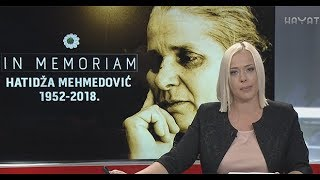 VODITELJICA 'VIJESTI U 7' ZAPLAKALA TOKOM NAJAVE PRILOGA O SMRTI HEROINE HATIDŽE MEHMEDOVIĆ