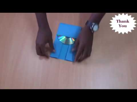 How to Make Instant CD and DVD Case Cover out of Paper 2016