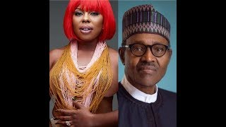 AFIA SCHWARZENGGER TELLS NIGERIANS NOT TO VOTE BUHARI