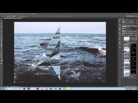 Tutorial - Hipster Geometric Design in Illustrator and Photoshop