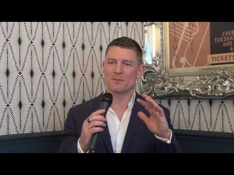 Exclusive Philip Winchester Interview for Chicago Justice