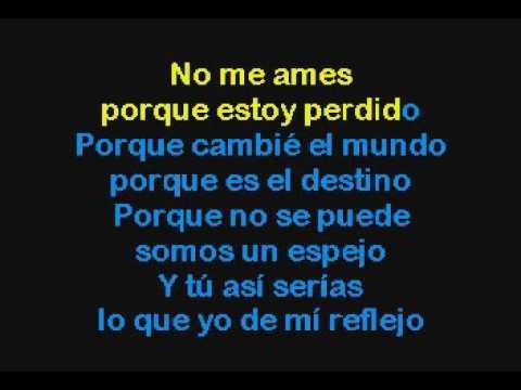 Marc Anthony & Jennifer Lopez   No Me Ames Karaoke