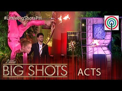 Little Big Shots Philippines: Bella | 11-year-old Foot Archer from Pennsylvania