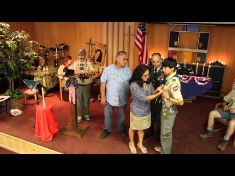Eddie's Eagle Scout Court of Honor