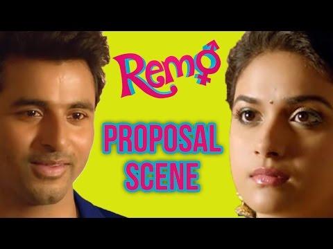 Remo - Proposal scene | Sivakarthikeyan | ...