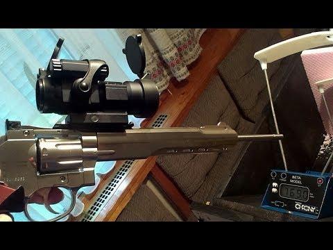 Airsoft 7 Joule 700+fps (G&G 0,28g) Ruger Superhawk 8