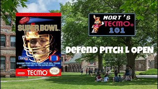Mort's Tecmo 101 Video Series - Defend Pitch L Open
