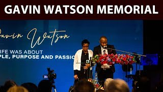 """The family of Bosasa CEO Gavin Watson described him as a man of God who's only fault was """"trusting other people too much"""". Speaking at his memorial, his housekeeper said she hopes his children will still be as good to her as their father was."""