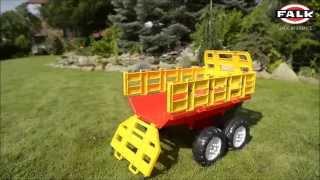 Największe przyczepy na siano wywrotki do traktorów FALK