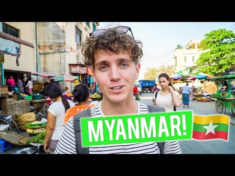 Arriving in MYANMAR - Mandalay