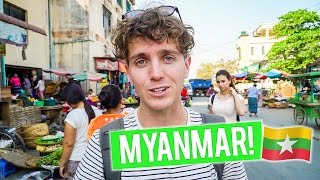 Arriving in MYANMAR - Mandalay | Thailand to Myanmar - First Thoughts