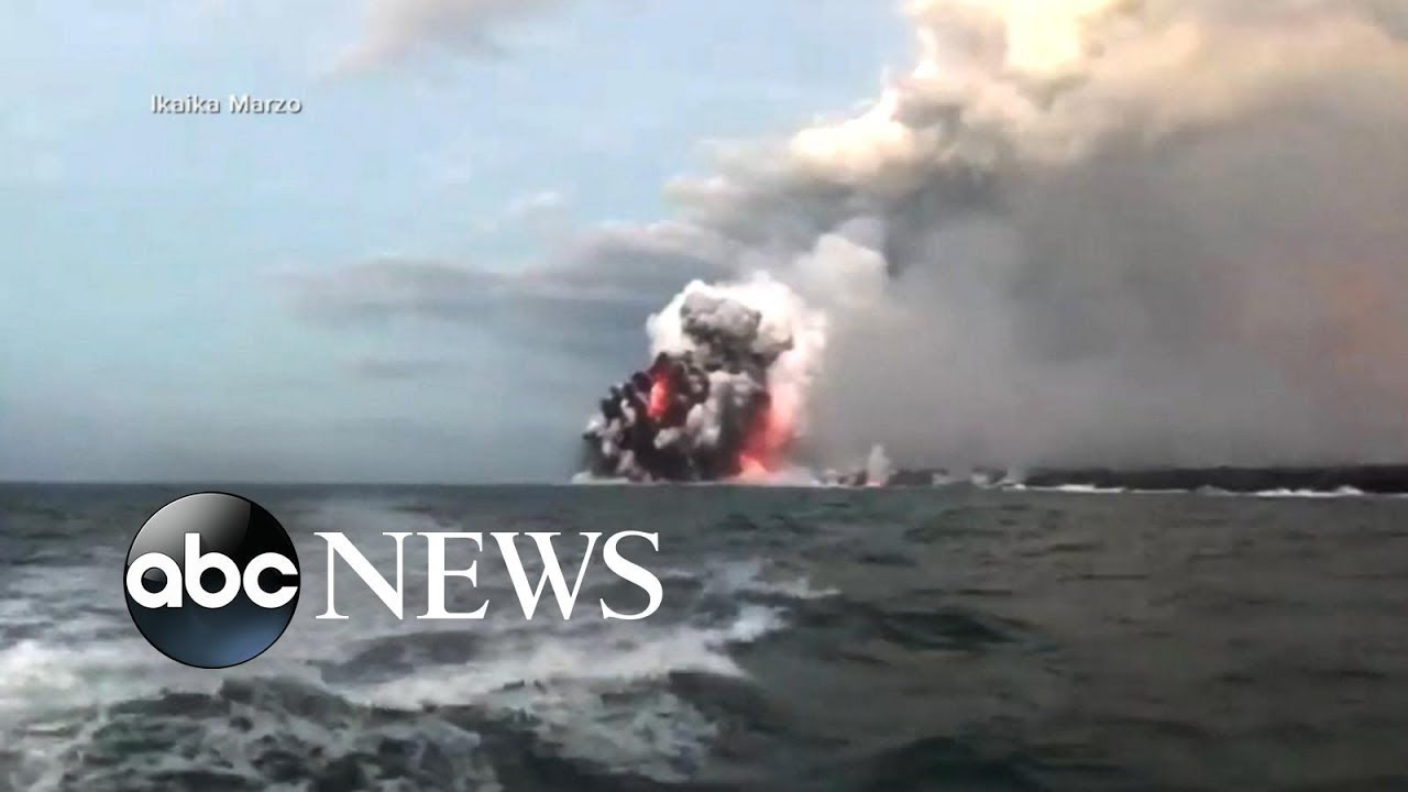At least 23 injured by 'lava bomb' on tourist boat in Hawaii