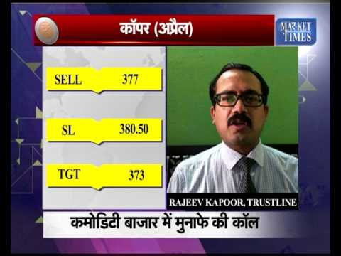 Commodity Call by Rajiv kapoor of Trustline