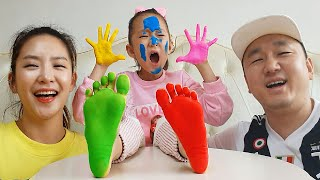 Finger Family Color Song By LoveStar | Learn Colors by painting play | Nursery rhymes & Kids song