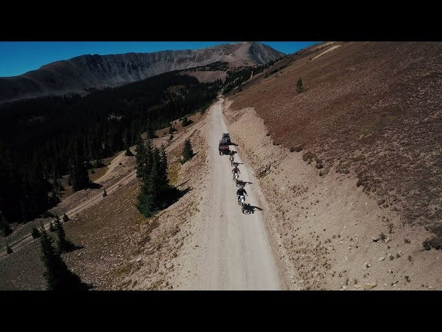 Pitkin to Aspen - Taylor Pass (3DR Solo DJI OSMO GoPro)